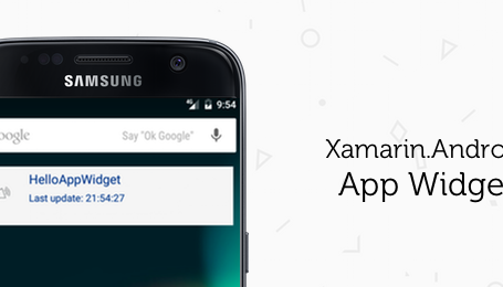 How to make an App Widget with Xamarin Android