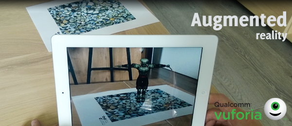 Introduction into Augmented Reality with Vuforia and Unity