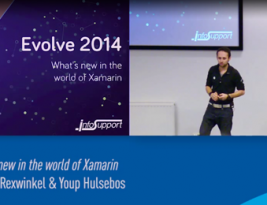 [Dutch] Presentation: Evolve 2014: What's new in the world of Xamarin