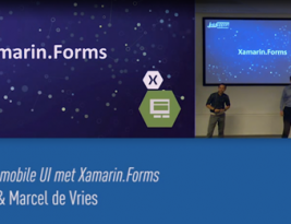 [Dutch] Presentation: Cross platform mobile UI with Xamarin.Forms