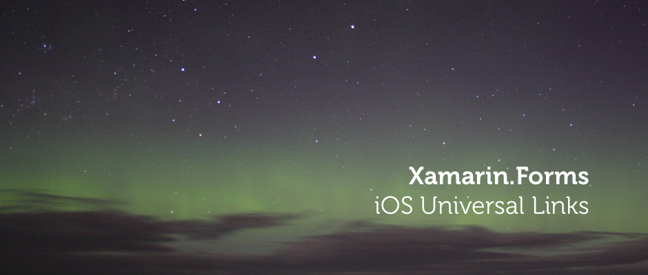 iOS Universal Links in Xamarin Forms and ASP NET Core