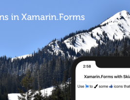 Use inline icons in Xamarin.Forms with SkiaSharp Iconify