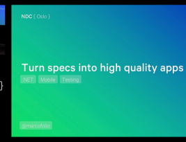 Presentation: Turn specs into high quality apps [NDC Oslo]